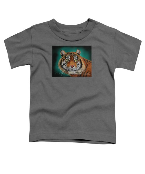 Tiger Portrait......amur Tiger Toddler T-Shirt