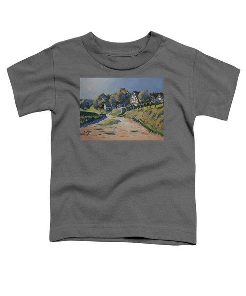 Timbered Houses In Terziet Toddler T-Shirt