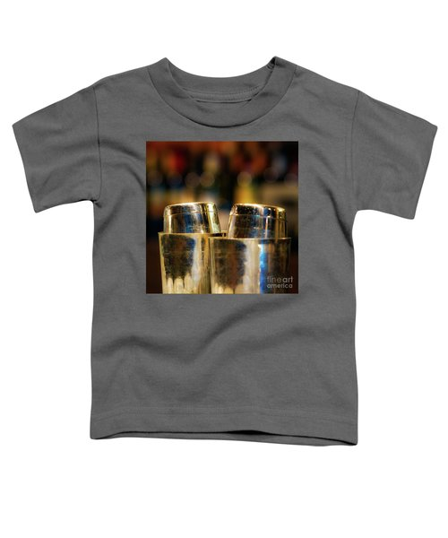 Time For A Cocktail Toddler T-Shirt