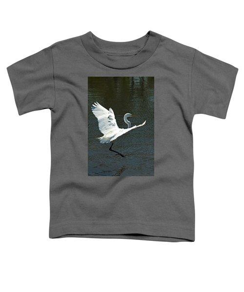 Time To Land Toddler T-Shirt