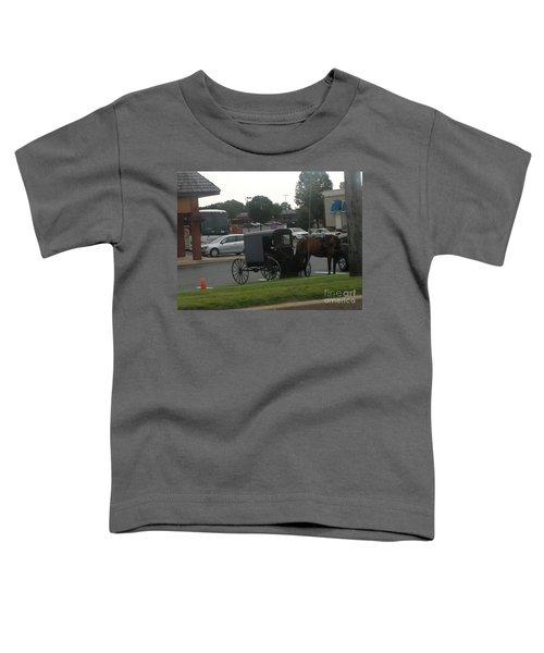 Time To Shop Toddler T-Shirt
