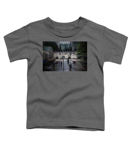Time Traveller Toddler T-Shirt by Martin Newman