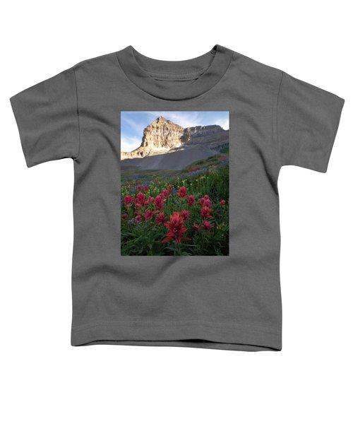 Timpanogos Paintbrush Toddler T-Shirt