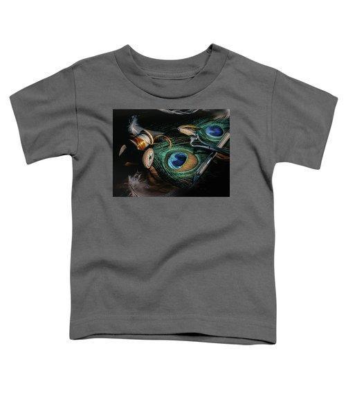 Tinsel Rust Nymph Toddler T-Shirt
