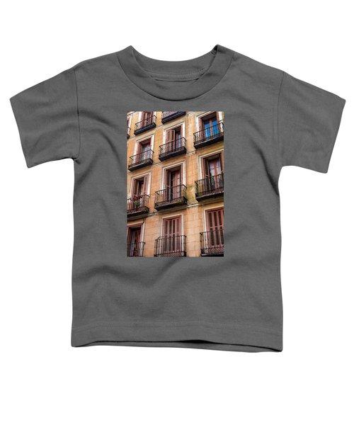 Tiny Iron Balconies Toddler T-Shirt
