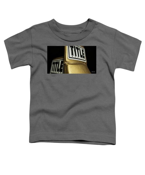 Title Boxing Gloves Toddler T-Shirt