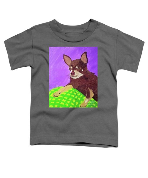 Token Date With Paint Mar 19 Toddler T-Shirt