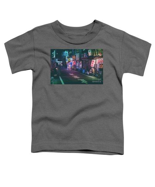 Tokyo Side Streets, Japan Toddler T-Shirt