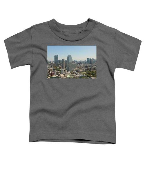 Tokyo Skyline Toddler T-Shirt by Jacob Reyes