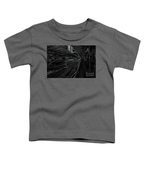 Tokyo To Kyoto, Bullet Train, Japan Negative Toddler T-Shirt