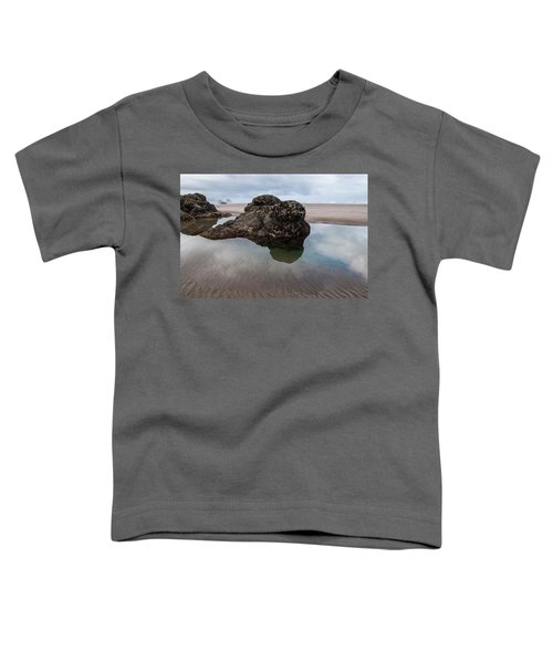 Tolovana Beach At Low Tide Toddler T-Shirt