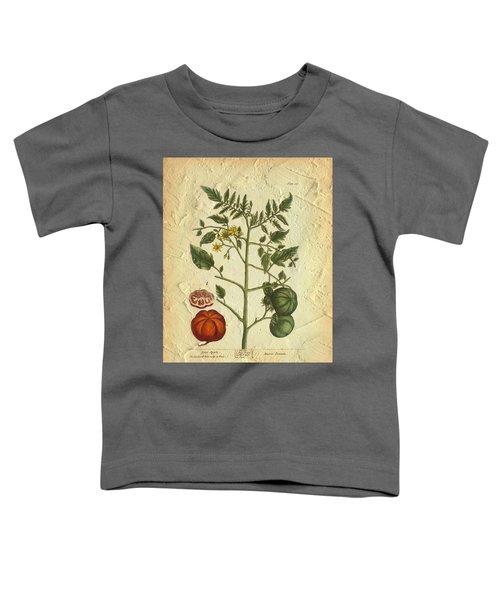Tomato Plant Vintage Botanical Toddler T-Shirt