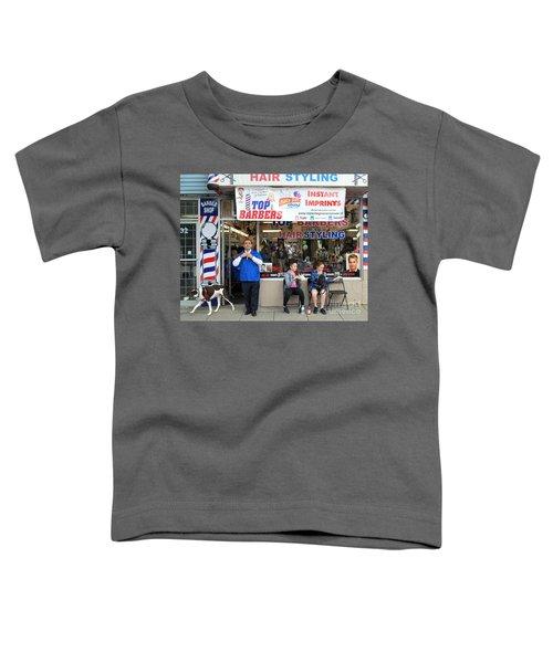 Top Barbers Toddler T-Shirt