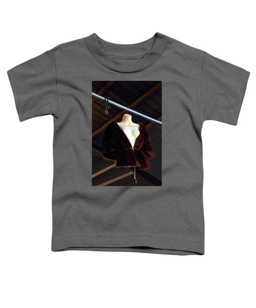 Top Fur Coat Toddler T-Shirt