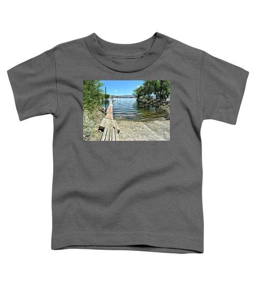 Topaz Landing Boat Launch Toddler T-Shirt
