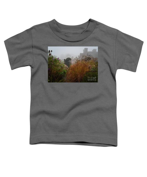 Topiary Peacocks In The Autumn Mist, Great Dixter 2 Toddler T-Shirt