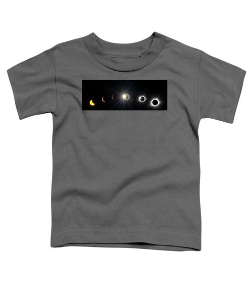Total Solar Eclipse Sequence Toddler T-Shirt