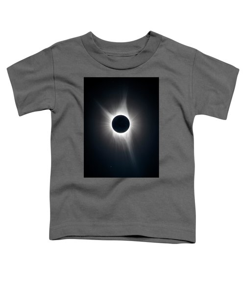 Toddler T-Shirt featuring the photograph Totality by Greg Norrell