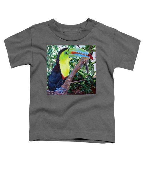 Toucan Portrait Toddler T-Shirt