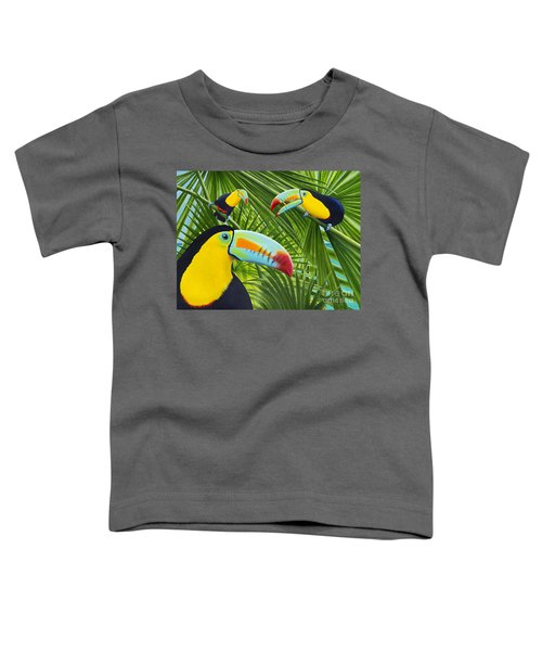 Toucan Threesome Toddler T-Shirt