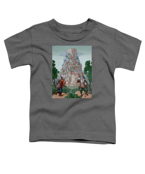 Tower Of Babel Toddler T-Shirt