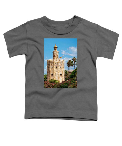 Tower Of Gold Toddler T-Shirt