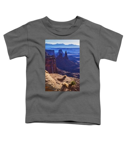 Tower Sunrise Toddler T-Shirt