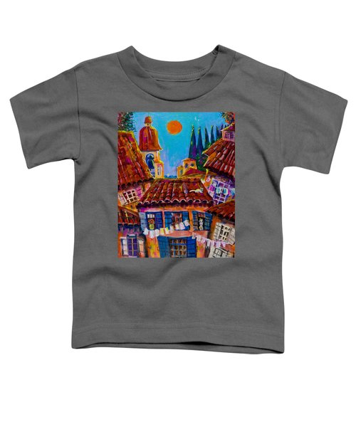 Town By The Sea Toddler T-Shirt