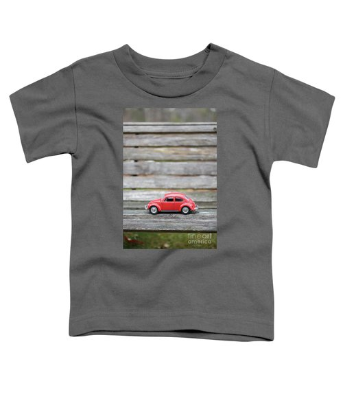 Toy Car On A Bench Toddler T-Shirt