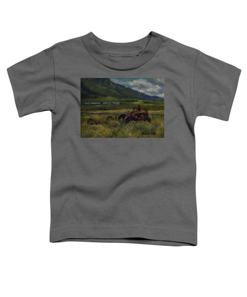 Tractor From Swan Valley Toddler T-Shirt