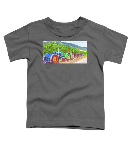 Tractor Row Toddler T-Shirt