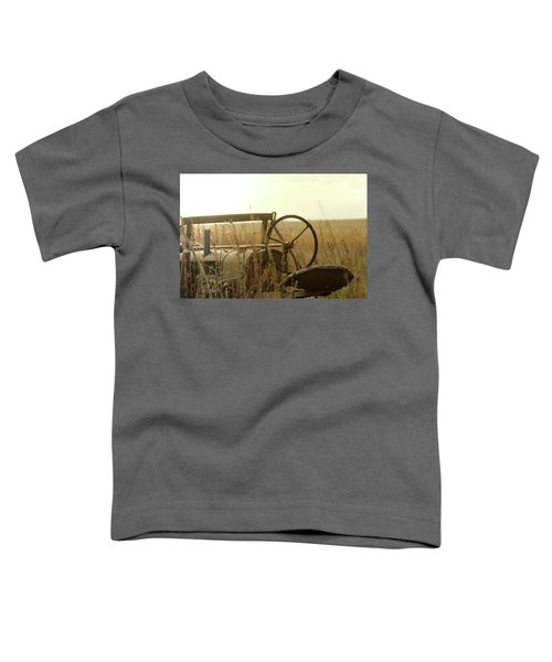 Tractor Sunrise Toddler T-Shirt