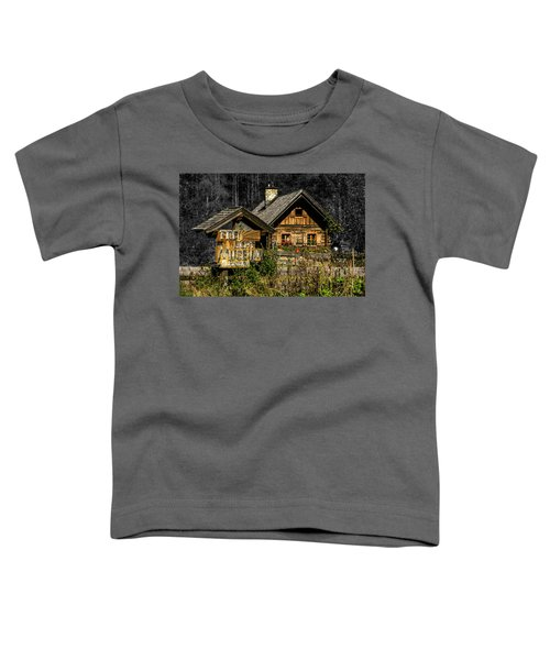 Traditional Austrian Wooden House Toddler T-Shirt