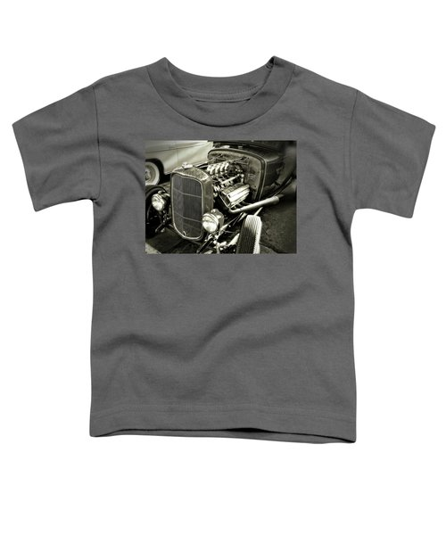Traditional Hemi Bw Toddler T-Shirt