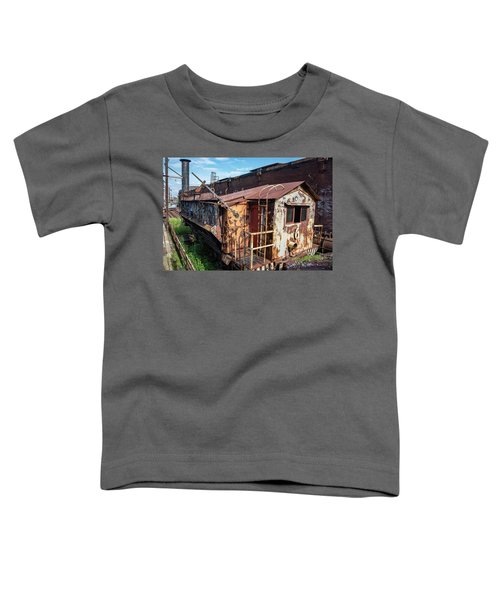 Train 6 In Color Toddler T-Shirt