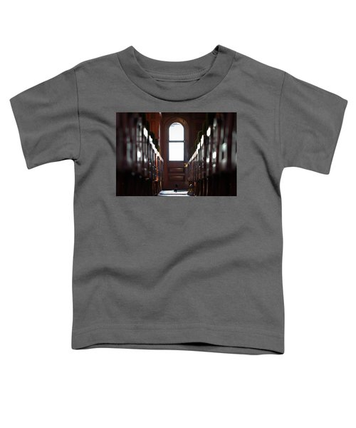 Train Car Interior Toddler T-Shirt