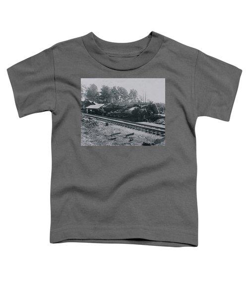 Train Derailment Toddler T-Shirt