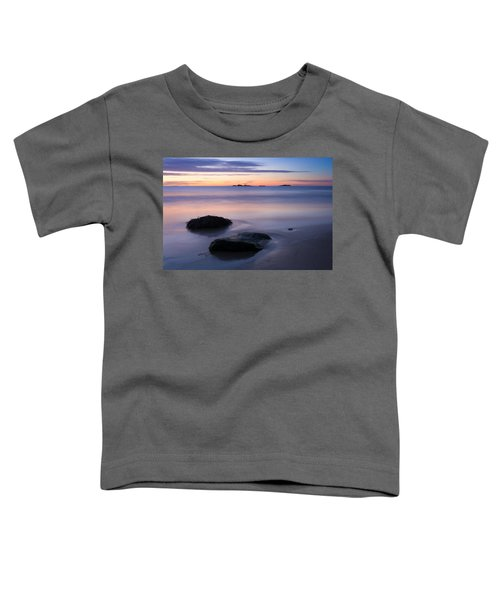 Tranquil Morning Singing Beach Toddler T-Shirt