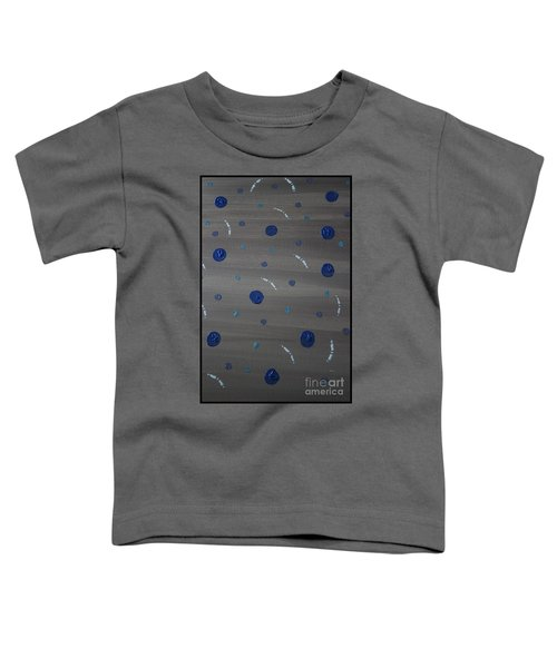 Tranquil Acrylic Abstract Toddler T-Shirt