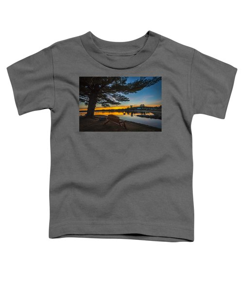 Tranquility At Sunset Toddler T-Shirt