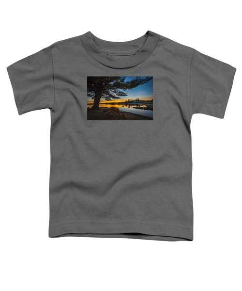 Tranquility At Sunset Toddler T-Shirt