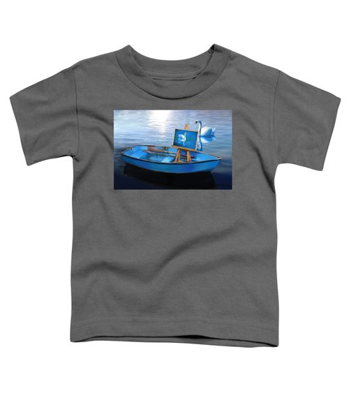 Tranquility Toddler T-Shirt by Nanda Dixit