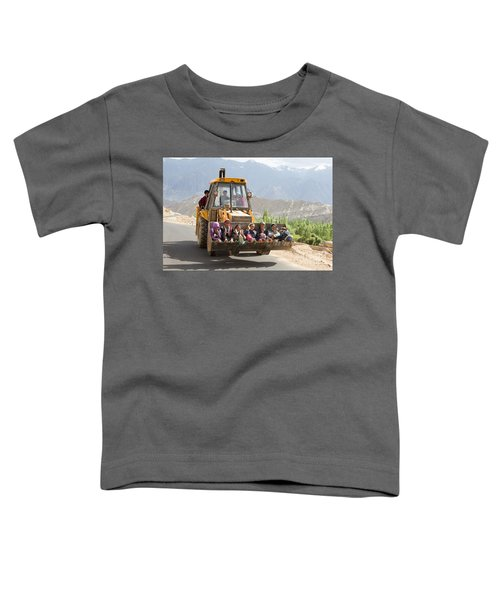 Transport In Ladakh, India Toddler T-Shirt