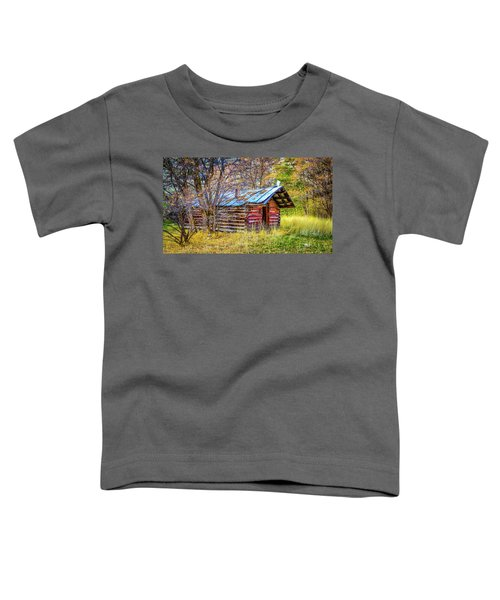 Trappers Cabin Toddler T-Shirt