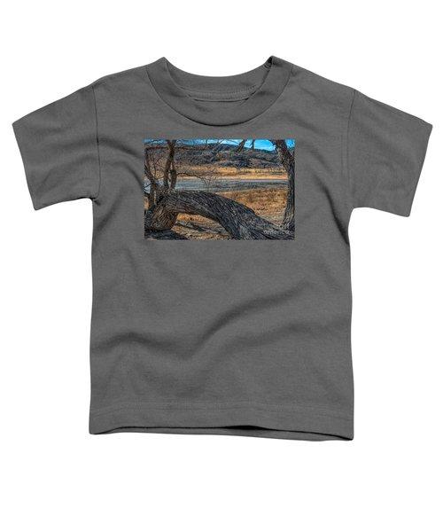 Tree At Elizabeth Lake Toddler T-Shirt