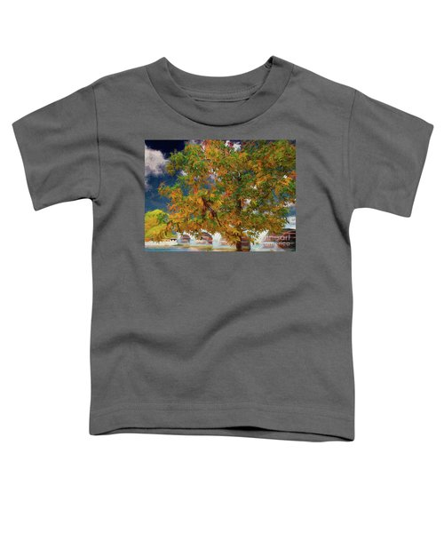 Tree By The Bridge Toddler T-Shirt
