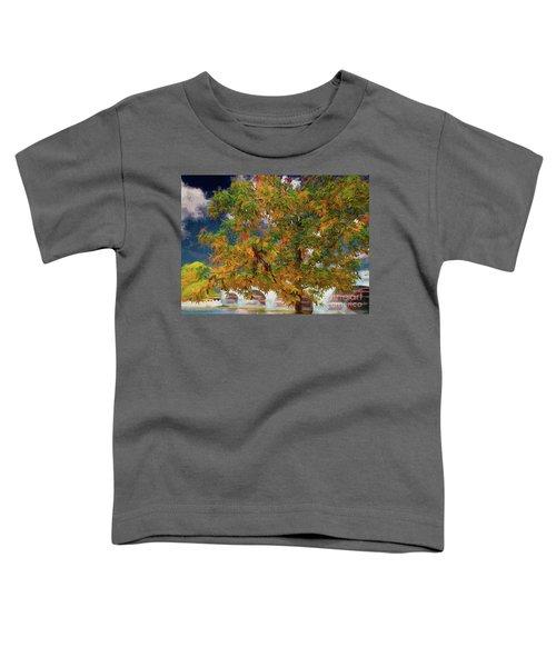 Tree By The Bridge Toddler T-Shirt
