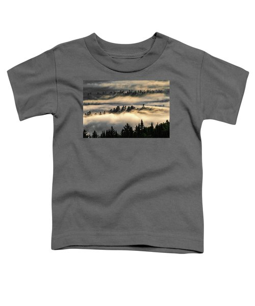 Trees In The Clouds Toddler T-Shirt