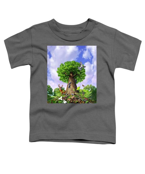 Tree Of Life Toddler T-Shirt by Jerry LoFaro