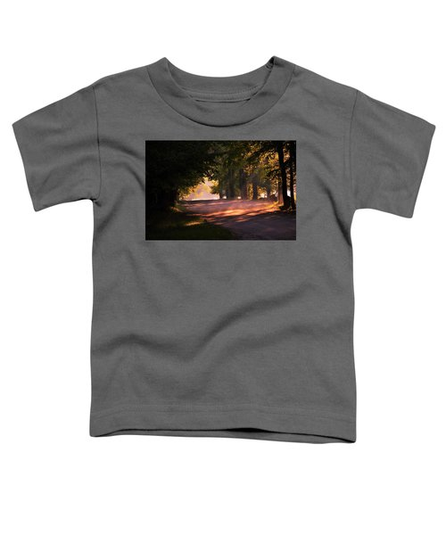 Tree Tunnel Toddler T-Shirt